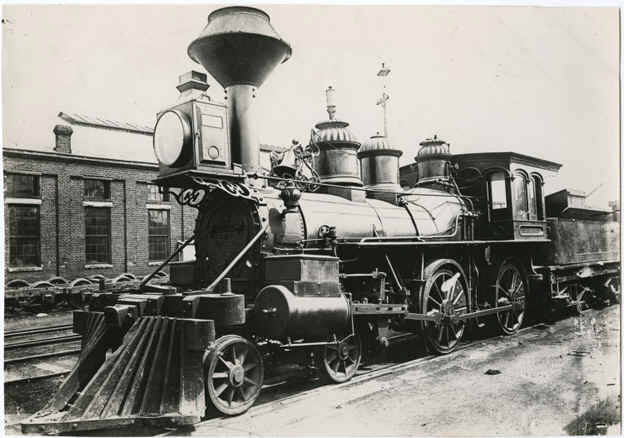 Jefferson Davis Escape Locomotive
